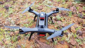 3DR Solo – Payload capacity: 0.8 kg – Flight duration: 15 mins